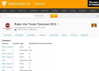 VTT 2012 Tennis Vereniging Buren